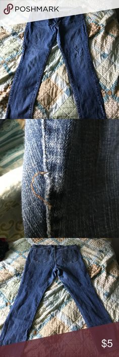 Sweetheart jeans. size 18 Regular. Worn a few times, stitch is coming apart on left leg. If you know how to sew its an easy fix. Old Navy Pants Straight Leg