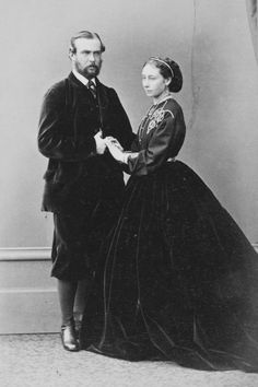 Prince and Princess Louis of Hesse (Darmstadt) and by Grand Duke and Grand Duchess of Hesse.