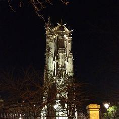 Visite de la Tour de Saint Jacques de nuit #visitparis #pariscityvision #paris #tour #saintjacques #rivoli #bynight #parisjetaime