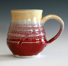 Awesome multi colored and different textured mug. I love this mug.