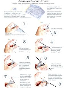 Crocheting Rows Turning : 1000+ ideas about Knitting Short Rows on Pinterest How To Knit ...
