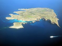 This is Comino an island between Malta and Gozo ......it is the smallest island of the Maltese archipelago