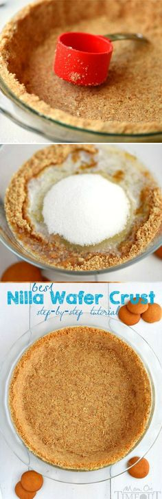 Best Nilla Wafer Pie Crust Dessert Recipes - #recipes, dessert, food