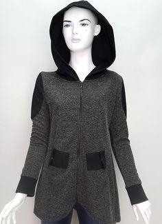 Hobby giyim | İyi Giyinmek ve İyi Yaşamak. siyah bayan kapşonlu hırka