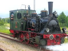 The Achertal line leads from Achern to Ottenhöfen in the Northern Black Forest, with normal trains and steam trains. Old Steam Train, Train Engines, Light Rail, Steam Engine, Places Of Interest, Steam Locomotive, Diesel Engine, Black Forest, Train Travel
