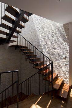 Greenfall Renovation   Vo Trong Nghia Architects #circulation