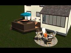 cheap outdoor patio floor material