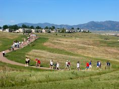 Broomfield, Colorado treats residents with over 250 miles of trails to enjoy. This is a trail near where I live.