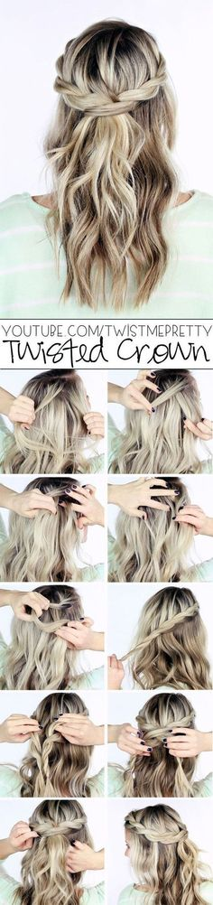 quick-hairstyle-tutorials-for-office-women-4