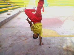 """BY ALEX SOLIS  """"this was my first photo when I was 13, when I started to break dance."""""""