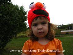 Crochet Elmo Hat Sesame Street Elmo Beanie by TrudysKnotsofLove, 24.97