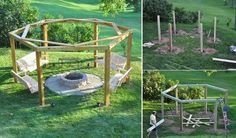 DIY Porch-Swing Fire Pit | Decoration Trend