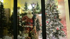 Shop window on Main Street, Beacon, NY. 'Second Saturday' Night on the Town in Beacon in the Hudson Valley