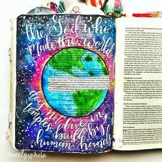 Bible Journaling by @neelysphoto