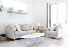 50 Desain Interior Ruang Tamu Minimalis, Modern, dan Klasik Warna Cat Putih | Desainrumahnya.com