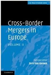 This book is the second volume of two containing a discussion of the cross-border merger directive and its implementing legislation in each member state of the European Union and the European Economic Area. It provides companies and their advisors with useful insight into the legal framework applicable to, and the tax treatment of, cross-border mergers throughout the European Economic Area.  Cote	: 4-2232-2 VAN