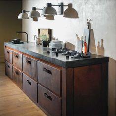 JACOB handgemaakte stalen keuken Milano - Product in beeld - Startpagina voor keuken ideeën | UW-keuken.nl