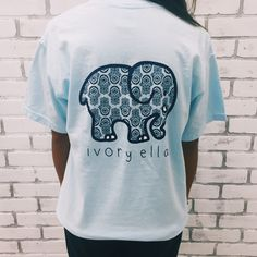 Our classic tee! Super soft with a comfortable fit and the perfect length for pairing with your favorite leggings or jeans. - Screen-printed in America - 100% Cotton - Custom Dyed - Hand-wash before w