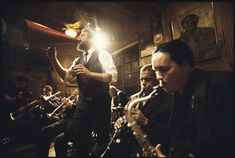 I don't remember many horn instruments but do remember the piano players. Oh my. So much delight. Preservation Hall, New Orleans.
