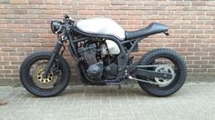 See many of my most popular builds - unique scrambler hybrids like this Gs500 Cafe Racer, Suzuki Cafe Racer, Suzuki Motorcycle, Cafe Racer Bikes, Cafe Racer Motorcycle, Custom Motorcycles, Custom Bikes, Cars And Motorcycles, Cb 450 Cafe Racer