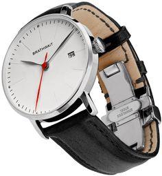 The automatic minimalist wrist watch: Melano handmade Italian leather strap – Brathwait