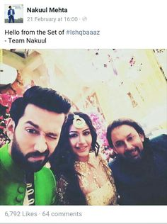 Nakuul Mehta FB Dil Bole Oberoi, Most Beautiful, Bollywood, Tv Shows, Handsome, Celebs, Actresses, Fan, Celebrities