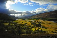 Braemar where they hold the highland games - would be so fun to see!