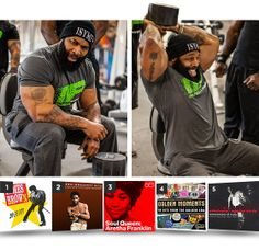 CT Fletcher is one of the biggest, baddest trainers in America. Bodybuilding Nutrition, Bodybuilding Motivation, Men's Bodybuilding, Love Fitness, Muscle Fitness, Fitness Diet, Mens Fitness, Health Fitness, One Song Workouts