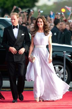 What: Alexander McQueen Where: BAFTA Film Awards in 2011 Why: The Duchess of Cambridge has ushered in a new era of royal style, one that is both modern yet completely timeless.   - HarpersBAZAAR.com