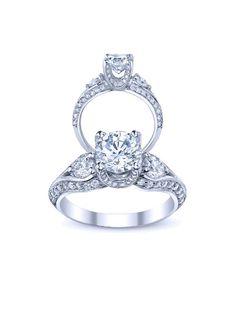 Diamond Engagement Anniversary Ring