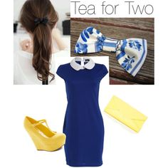 Tea for Two, find our bow at: https://www.etsy.com/shop/IIDoubleTakeII