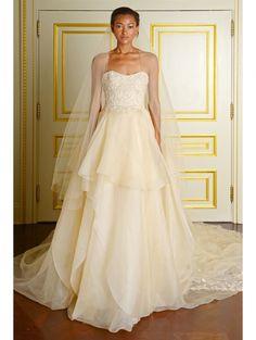 Marchesa Bridal Fall 2015 | ELLE