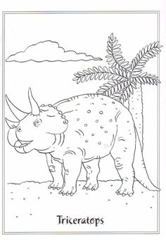 coloring page Dinosaurs on Kids-n-Fun. Coloring pages of Dinosaurs on Kids-n-Fun. More than coloring pages. At Kids-n-Fun you will always find the nicest coloring pages first! Boy Coloring, Coloring Pages For Boys, Disney Coloring Pages, Animal Coloring Pages, Colouring Pages, Coloring Books, Dinosaur Printables, Dinosaur Crafts, Dinosaur Coloring Sheets