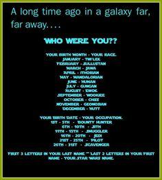 Star Wars Identity Generator: I got: Huana the Mandalorian Scavenger