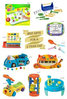 Best Gifts For A Two Year Old