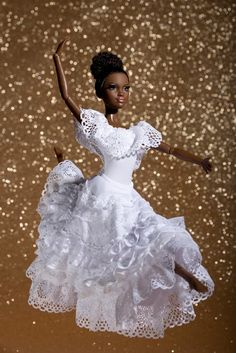 Alvin Ailey Barbie!  I have this and love it too. I like this display.