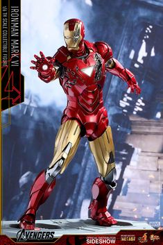 Marvel Iron Man Mark VI Sixth Scale Figure by Hot Toys