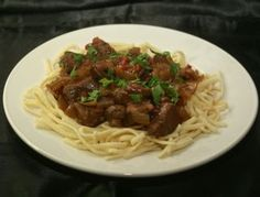 Beef Goulash Recipe From Polska Foods.  Has lots of mushrooms, red bell pepper, and seasonings!  Get ready for heart winter meals!  Other recipes: http://www.polskafoods.com/polish-recipes
