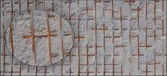 Fiberglas 3D Wanpaneele  in Betonoptik mit Eisenstäben. 3d, Room, Design, Furniture, Home Decor, Wall Cladding, Tiles, Natural Materials, Wall Design