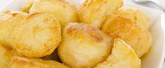 Roasted Honey Dijon Potatoes Recipe from Grandmother's Kitchen Jamie Oliver Roast Potatoes, Perfect Roast Potatoes, Aga Recipes, Potato Recipes, Snack Recipes, Cooking Recipes, Healthy Recipes, Cooking Roast Potatoes, Roasted Potatoes