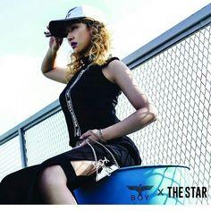 """Minzy:""""@boylondon_ltdx The star"""""""