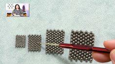 Beadweaving Basics: Seed Bead Sizes with Jill Wiseman
