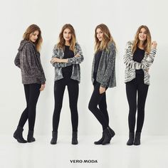 Layering is our favorite thing about Fall!  What's yours? #veromodame #fall #autumn #outfit #fashion