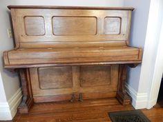 1886 Knabe upright piano
