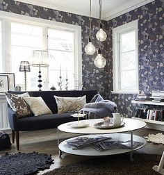 1000 images about decorar con papel on pinterest ideas for Papel mural living comedor