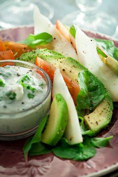 Avokado-päärynäsalaatti | Salaatit | Pirkka #food #salad