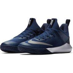 c038afe39cd7 Nike Zoom Shift Women s Basketball Shoes White Metallic Silver Wolf ...