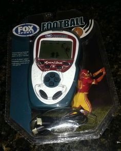 Electronic Handheld Football Game Fox Sports Excalibur | Toys & Hobbies, Games, Electronic Games | eBay!
