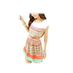 Allegra K Ladies Scoop Neck Sleeveless Elastic Waist Mini Dress Multicolor XS: http://www.amazon.com/Allegra-Ladies-Sleeveless-Elastic-Multicolor/dp/B007WACXG0/?tag=wwwcert4uinfo-20