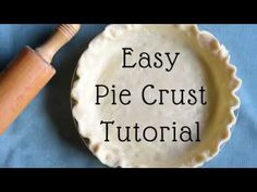 How to Make Pie Crust From Scratch - YouTube